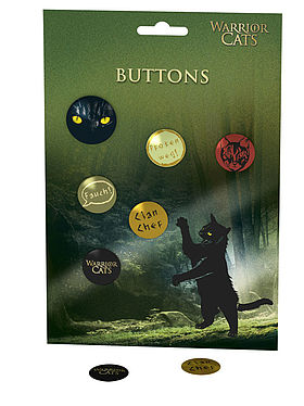 Warrior Cats – Buttons
