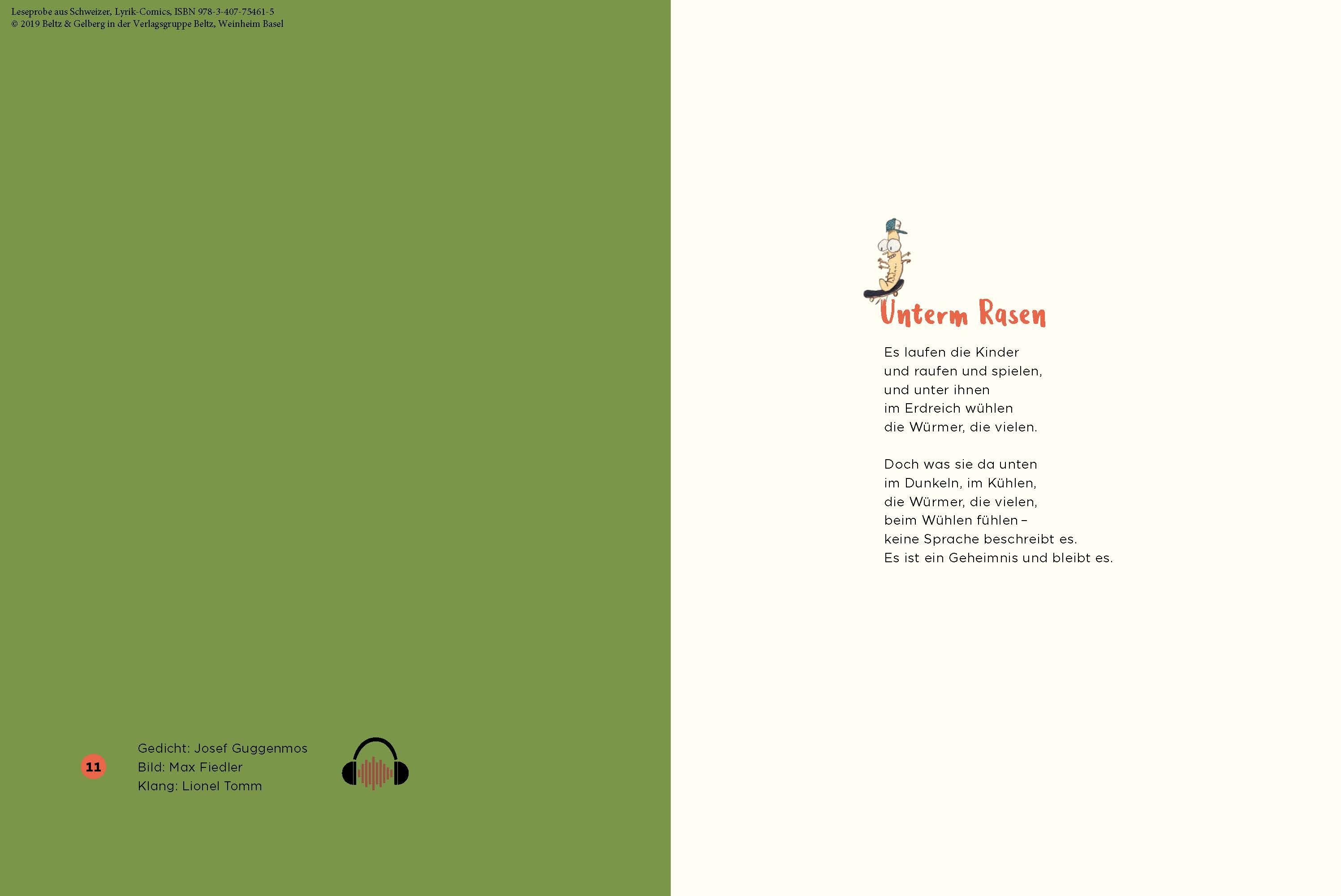 Lyrik Comics Gedichte Bilder Klänge Für Kinder In Den