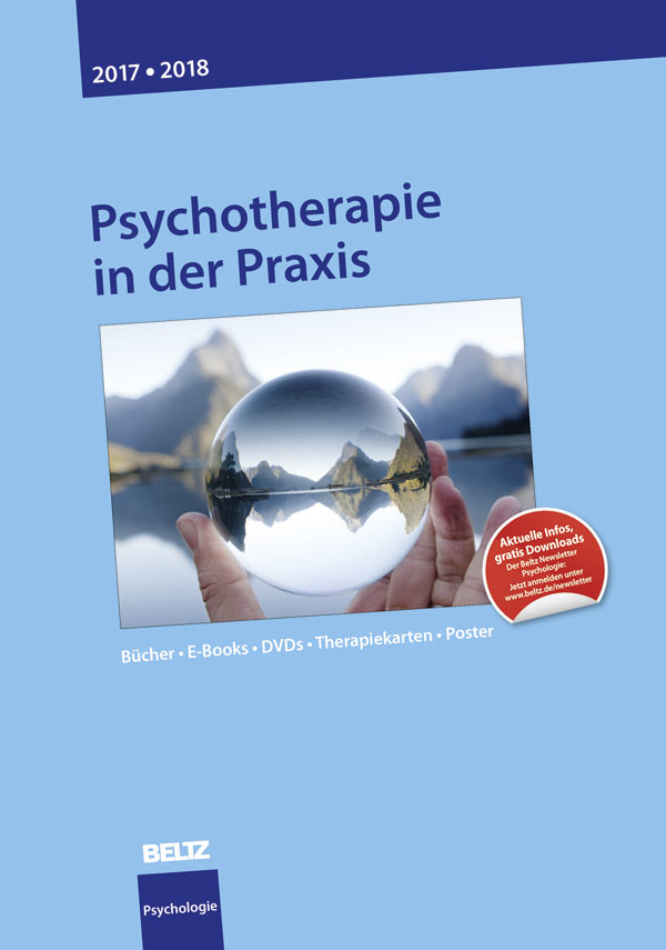 katalog psychologie 2017 psychotherapie in der praxis b cher e books dvds. Black Bedroom Furniture Sets. Home Design Ideas