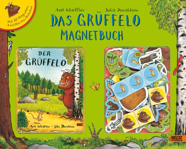 Das Grüffelo Magnetbuch - Axel Scheffler, Julia Donaldson