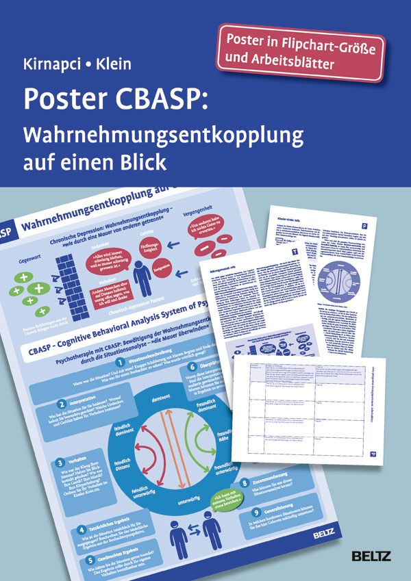 Poster CBASP - Wahrnehmungsentkopplung auf einen Blick. Poster in ...