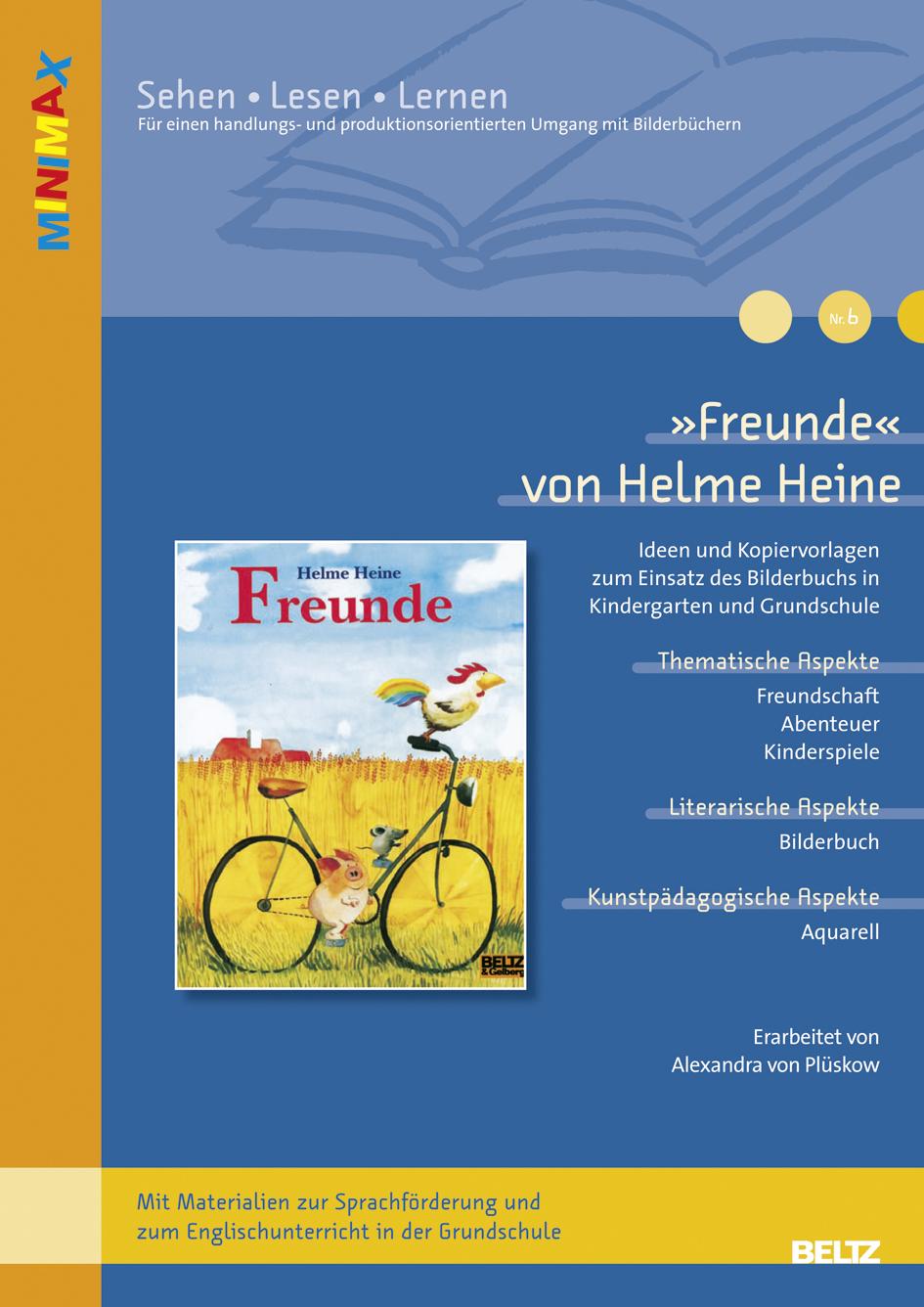 Freunde« von Helme Heine - Ideen und Kopiervorlagen zum Einsatz des ...