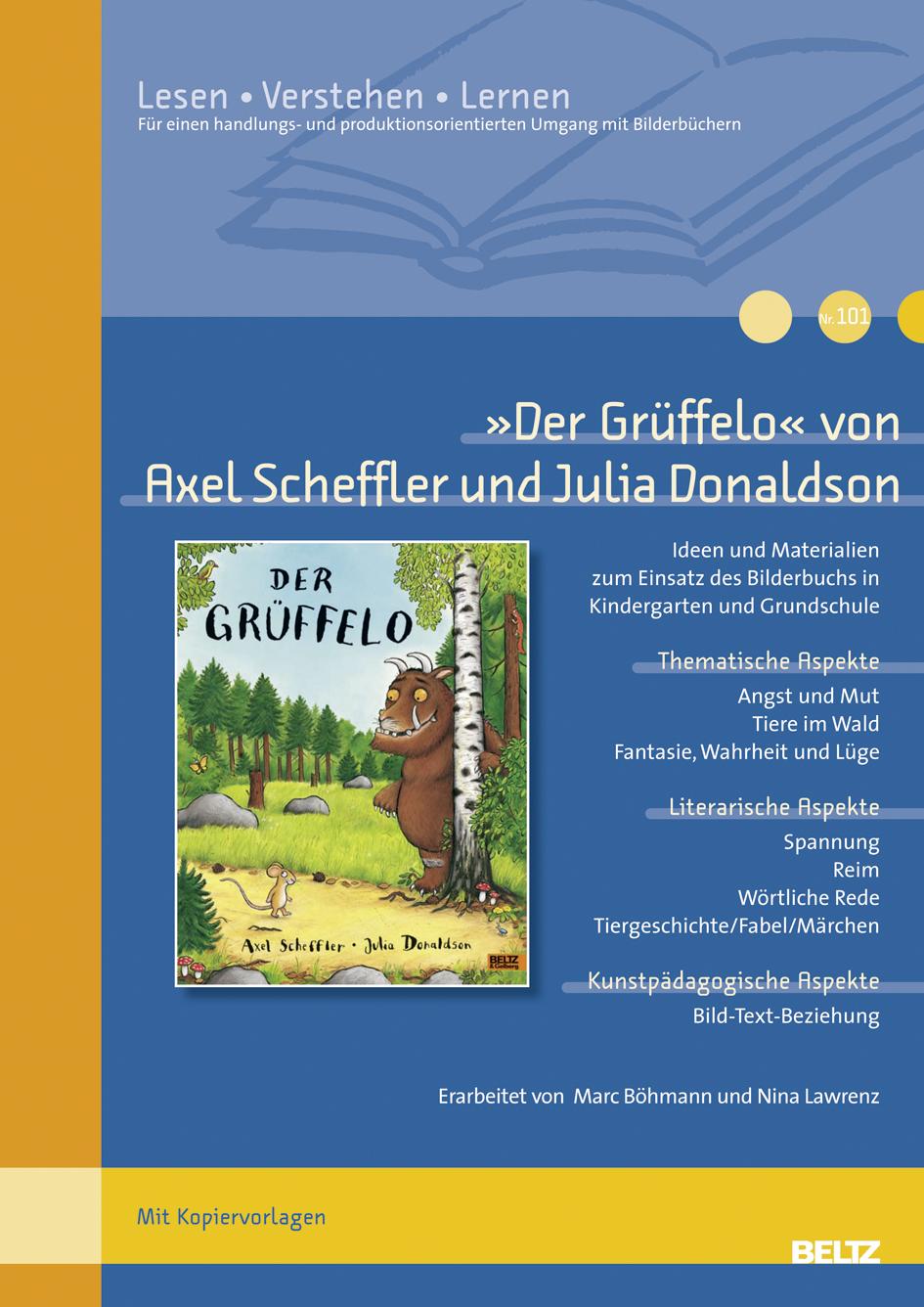 Der Grüffelo« von Axel Scheffler und Julia Donaldson - Ideen und ...