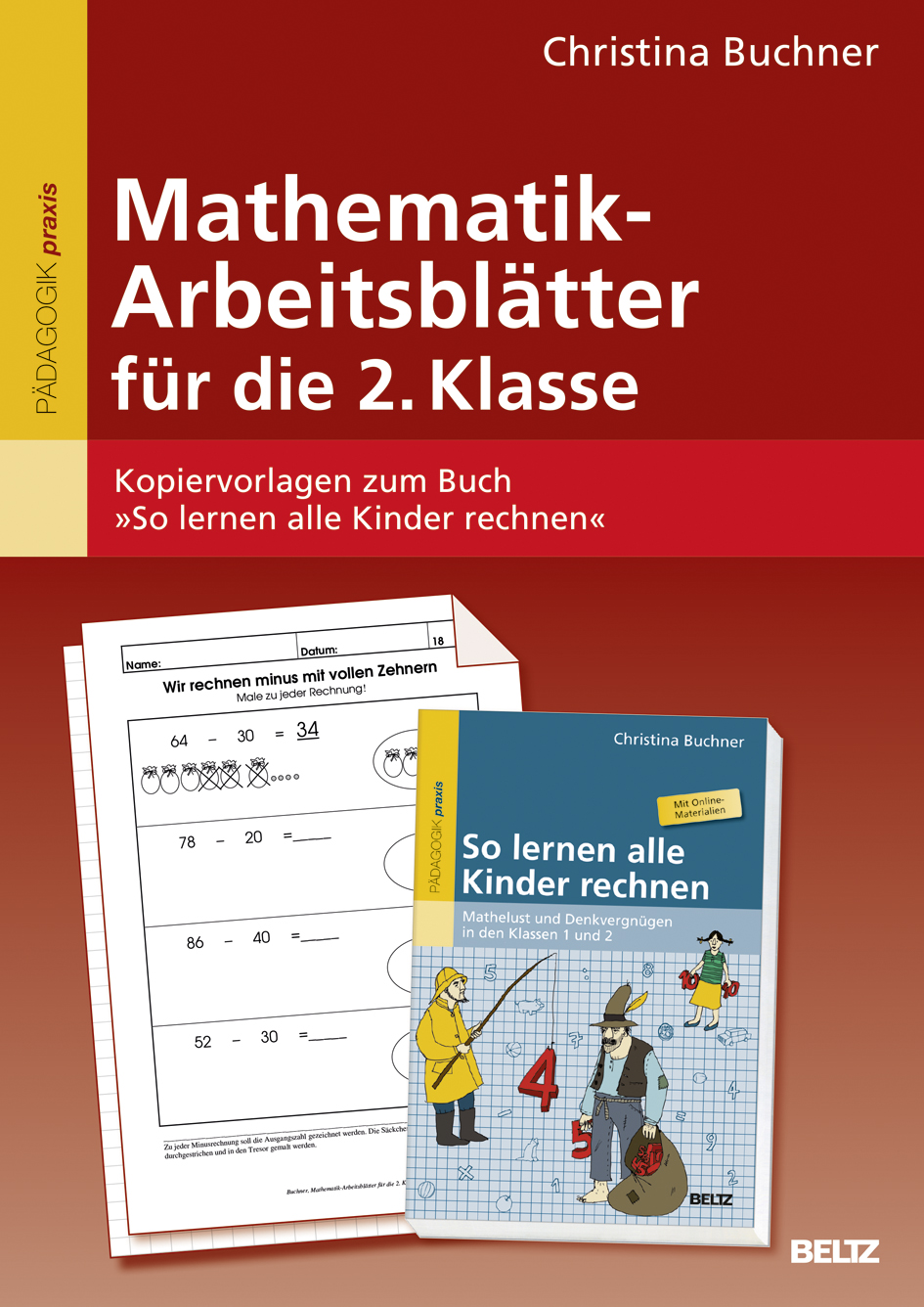 mathematik arbeitsbl tter f r die 2 klasse kopiervorlagen zum buch so lernen alle kinder. Black Bedroom Furniture Sets. Home Design Ideas