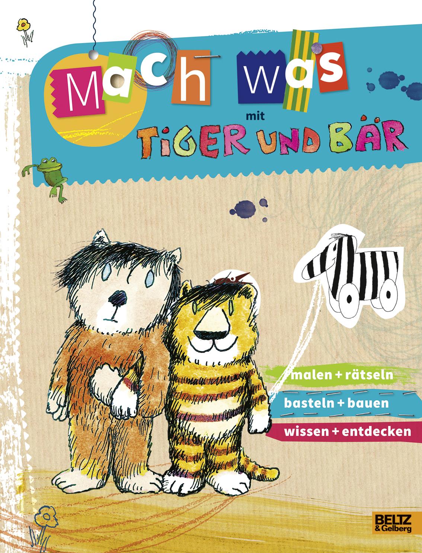 Mach Was Mit Tiger Und Bär Vierfarbiges Aktivitätsheft Ruth
