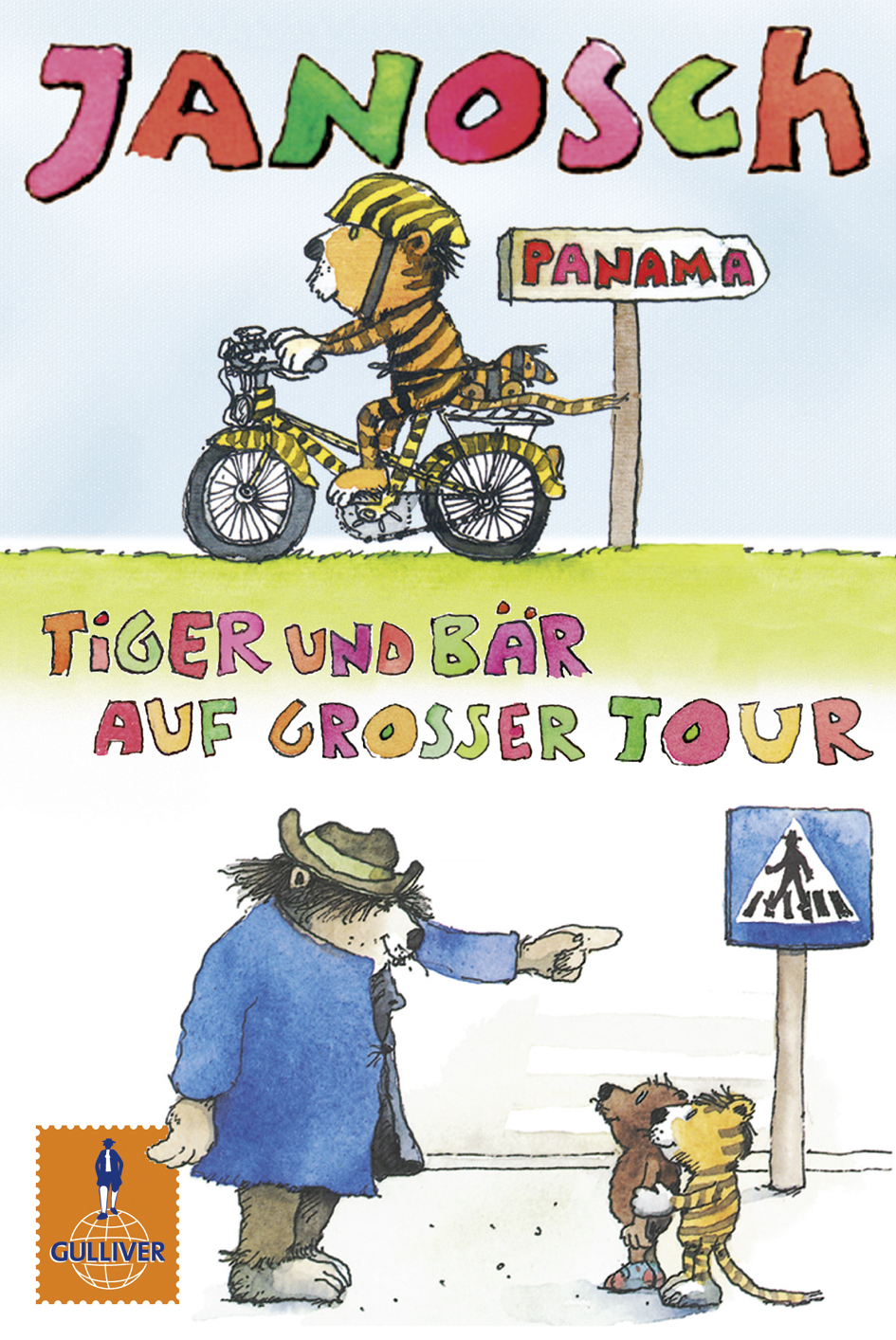 Tiger Und Bär Auf Großer Tour Der Kleine Tiger Braucht Ein Fahrrad