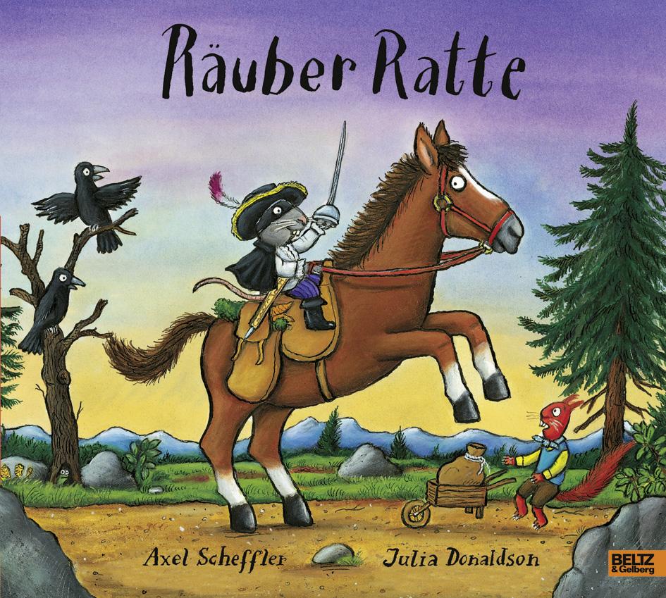 Räuber Ratte - Vierfarbiges Bilderbuch - Axel Scheffler, Julia ...