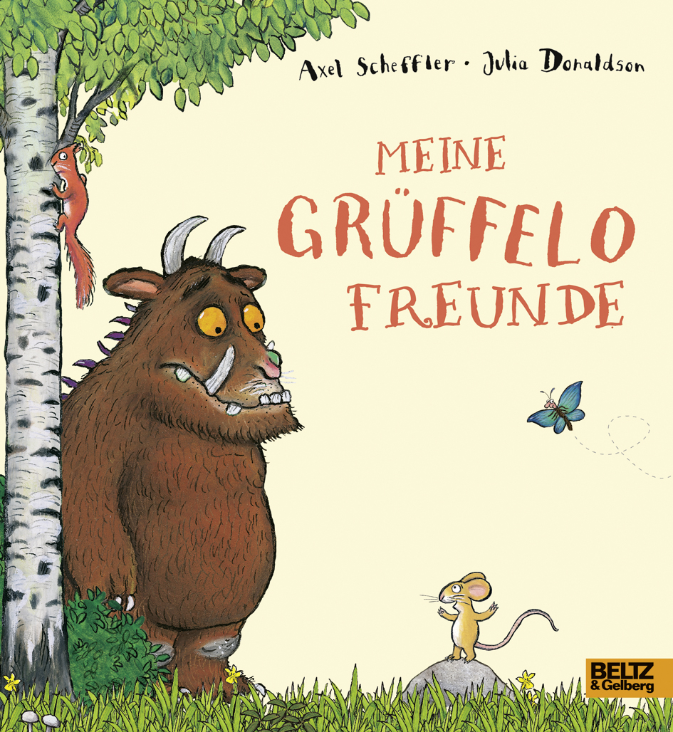 meine gr ffelo freunde axel scheffler julia donaldson beltz. Black Bedroom Furniture Sets. Home Design Ideas