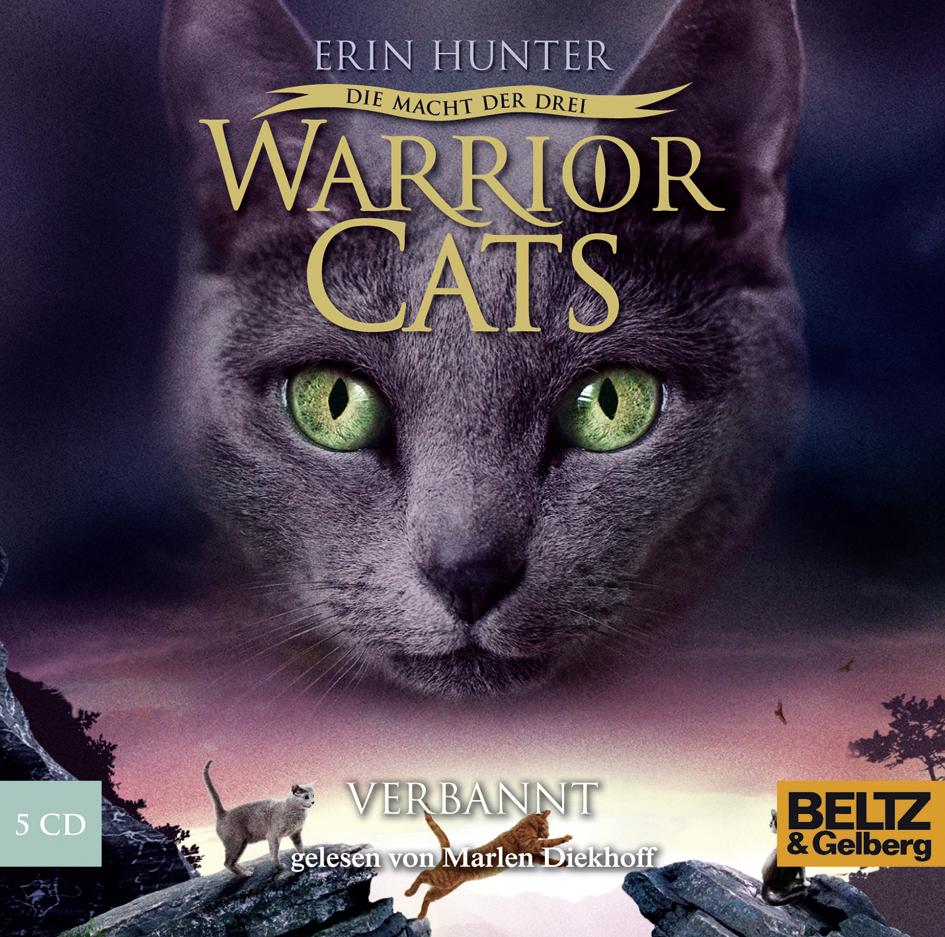 Warriors Erin Hunter Book 5: Die Macht Der Drei. Verbannt