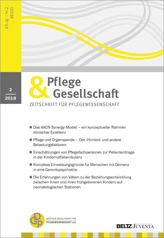 Pflege & Gesellschaft | BELTZ