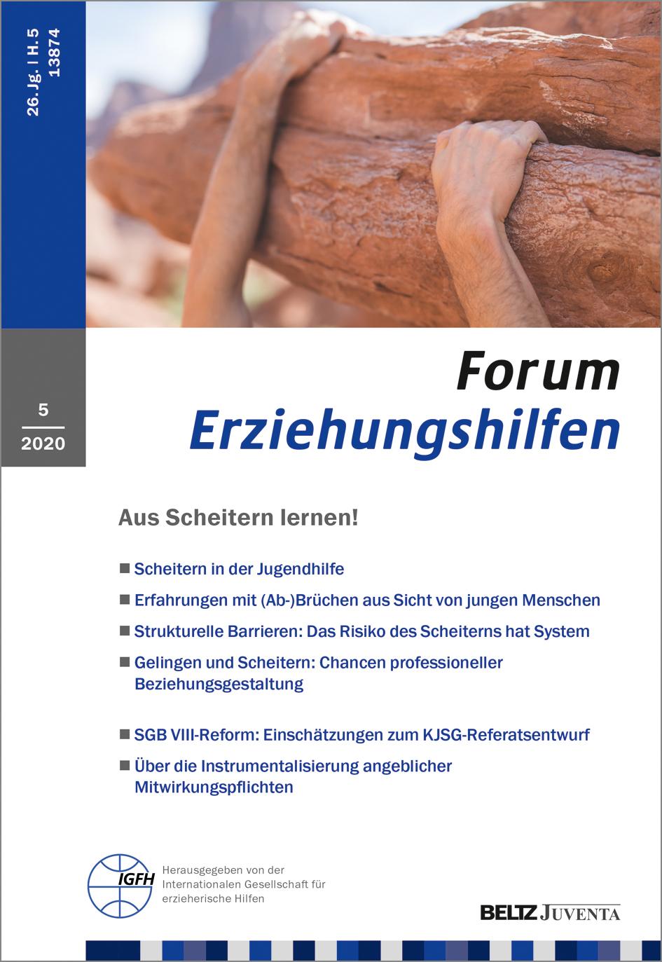 Forum Erziehungshilfen Beltz
